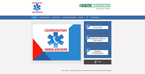 site Administrable - Coordination Ambulanciere