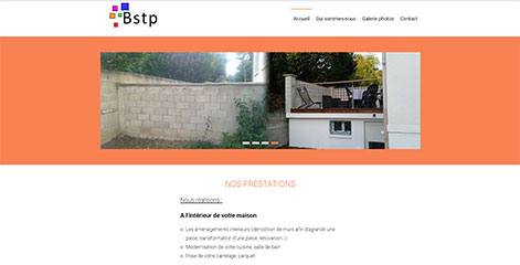 site Administrable - Bstp eurl