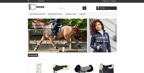 site e-commerce - Dresscode