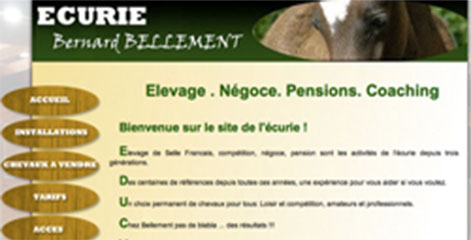 site Administrable  - Pension et commerce de chevaux