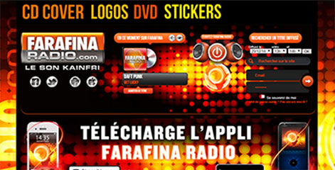 site Administrable - Farafina Radio