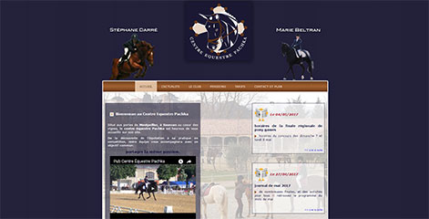 site Administrable  - Centre Equestre Pachka