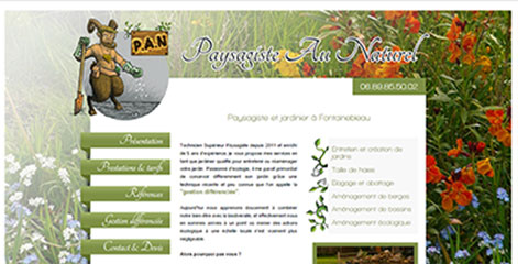 site Administrable  - PAN Paysagiste