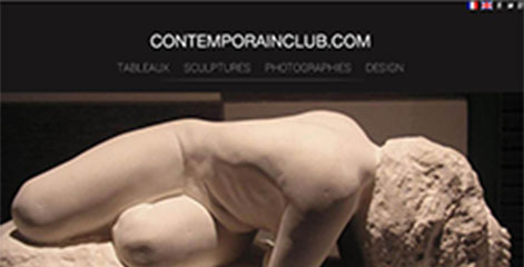 site e-commerce - Contemporain Club