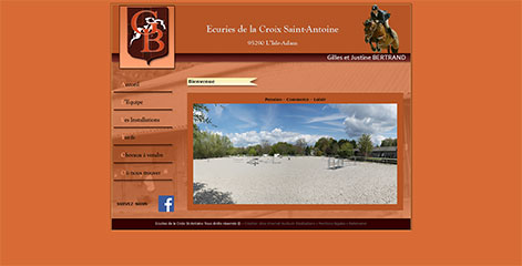 site Administrable  - Centre equestre